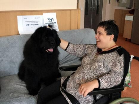 Canisterapie na 4.A domácnosti